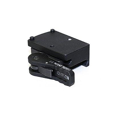 American Defense AD-RMR-CO STD Riflescope Optic Mount, Black by American Defense Mfg