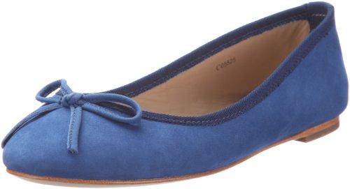 ESPRIT Thea C05525, Ballerine donna, Blu (Blau (star blue 478)), 38