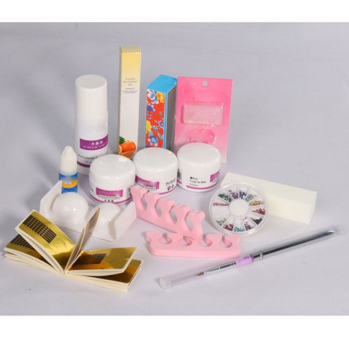 Pro Acrylic Powder Liquid Primer Decoration Kits