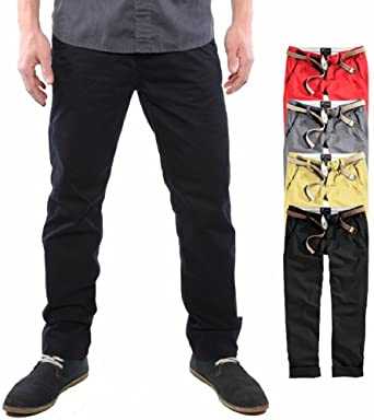 Surplus Raw VintageHose Loose Fit Chino Pantalon occasionnel Pants, Size: S, Colour: Noir
