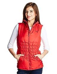 Puma Women's Jacket (83747227_Lipstick Red_Small)