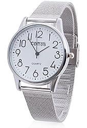 Soleasy Men's Women's Alloy Analog Quartz Wrist Watch WTH1030