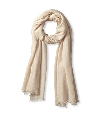 Portolano Women's Pashmina with Eyelash Fringes, Lt Beige