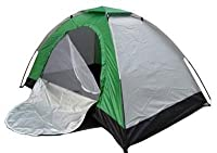 This portable light weight four people tent is ideal for hiking and camping with its compact size and full featured operation. Very easy to set up and re pack.