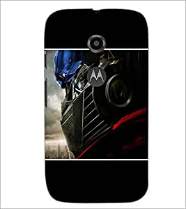 Printdhaba Car D-1347 Back Case Cover For Motorola Moto E2