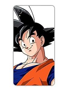 Goku - The Anime Hero - Big - Designer Printed Hard Back Shell Case Cover for Sony Z1 Superior Matte Finish Sony Z1 Cover Case