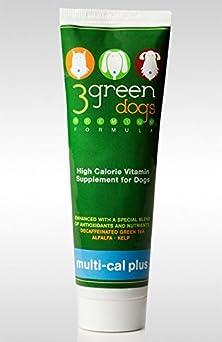 buy 3 Green Dogs Vitamins Inc Multi-Cal Plus 4.25 Oz