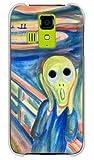 携帯電話taro Y!mobile DIGNO T 302KC ケース カバー (ムンク風の「叫び」) KYOCERA 302KC-YSZ-0071 の中古画像