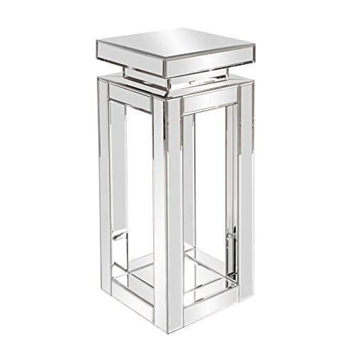Howard Elliott 11184 Mirrored Pedestal Table, Small (Mirrored Pedestal compare prices)