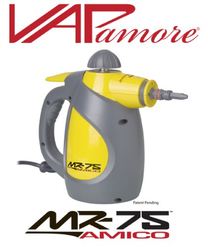 Vapamore MR-75 Amico Hand Held Steam Cleaner With Lifetime Warranty