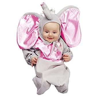 Baby Elephant Costume Bunting (0-6 Months)