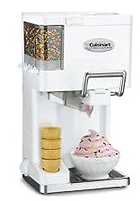 NEW! Cuisinart Ice Cream Maker Frozen Yogurt Sorbet Soft Serve Automatic Freezer NEW