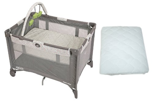 Graco Pack 'N Play On The Go Travel Playard With Waterproof Mattress Pad, Pasadena front-912230