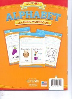 Bendon Alphabet Learning Workbook - 1
