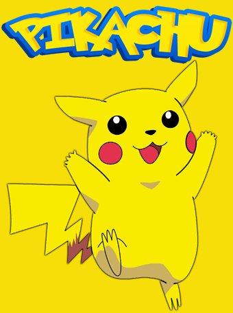 Camiseta-Pokemon-Pikachu-amarilla-manga-corta