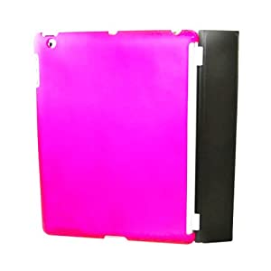 Eagle Cell Rubber Case for iPad 2 - Hot Pink (PSIPAD2R04) by Eagle Cell