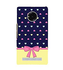 Multicolor Heart Design 3D Hard Polycarbonate Designer Back Case Cover for YU Yuphoria YU5010