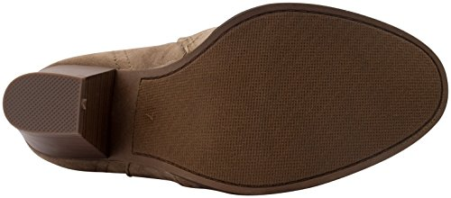 2e85cfc2cb524 Product Description. Featuring a detailed western stitch type upper, these faux  suede ankle booties ...