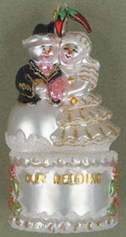 Hispanic Wedding Cake Ornament