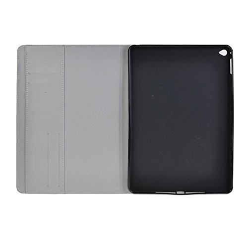 Topideal Ultra-Thin Slim Flip/Folio Smart Cover Stand Defender Case For Apple ipad Air 2/ipad 6 (2014 Released) (Nebula)