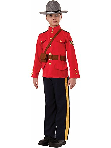 "Royal ""Mountie"" Mounted Police Kids Costume"