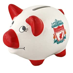Liverpool Piggy Crest Bank by Liverpool FC