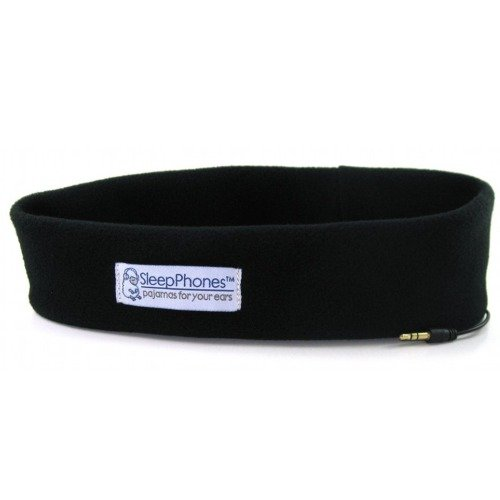 Acousticsheep Sleepphones Classic Sleep Headphones (Black, Extra Small)