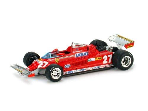 Ferrari Turbo – GP Italia (1981) Gilles Villeneuve #27 1:43 R390 126CK 2005 image