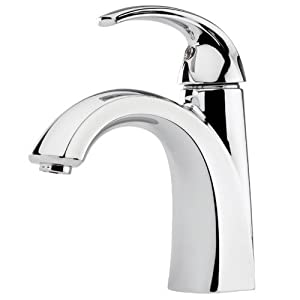 Pfister F-042-SL Selia Single Hole Bathroom Sink Faucet, Polished Chrome