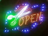 Hair Open Led Sign 2011 Style