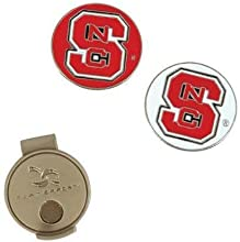 North Carolina State Wolfpack NCAA Hat Clip amp Ball Marker