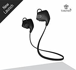 Tantra Zing Bluetooth 4.1 Wireless Headset with Noise and Echo Cancellation, Scratch Resistant Finish, Sweat Proof, Voice Command, Hi-Fi Stereo Sound For Apple iPhone, iPad, iPod, iWatch, Samsung, all Android and Blackberry Phones etc.