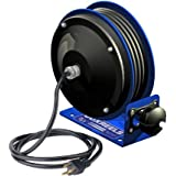 Coxreels PC10-3016-X Compact efficient heavy duty power cord reel with no accessory