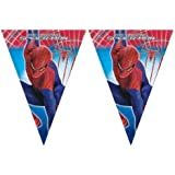 Amazing Spiderman Party - Spiderman Party Flag Banner 3m