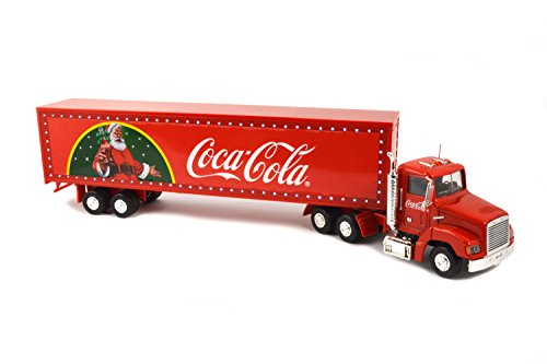 Coca Cola New LED Light-Up Christmas Truck (Red)