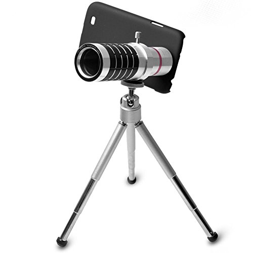 Greattree Aluminum Alloy 16X Telephoto Zoom Lens Set For Iphone/ Nokia 920/ Sony Z/ Samsung 7100 S3 S4