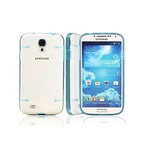 Blue Luminous Glow in Dark Bumper Hard Case For Samsung Galaxy S4 i9500