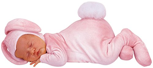 Princess Paradise Baby Girls Anne Geddes Bunny, Pink, 3/6M