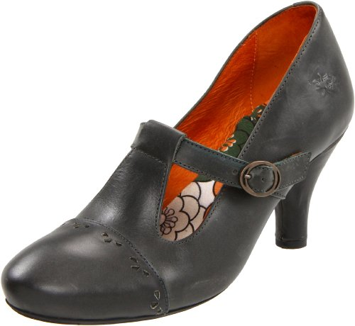 Fly London Women's Amore Antracite Mary Janes P142004004 4 UK