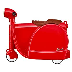 Skoot kids 39 ride on suitcase children 39 s luggage 46 cm 13 for Motorized ride on suitcase