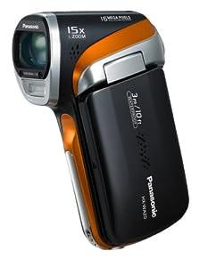 Panasonic HX-WA20EG-H HD-Camcorder (16 Megapixel, 5-fach opt. Zoom, bis zu 3m wasserdicht, staubgeschützt, 28mm Weitwinkel) anthrazit