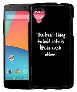 FCS Printed 2D Designer Hard Back Case For LG Google Nexus 5 Design-10264