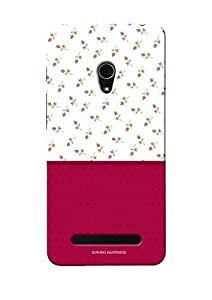 Sowing Happiness Printed Back Cover For Asus Zenfone 5