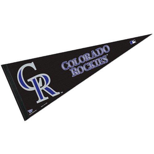 "MLB Colorado Rockies WCR45005712 Carded Classic Pennant, 12"" x 30"""