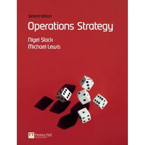 Operations Strategy 2nd Edition