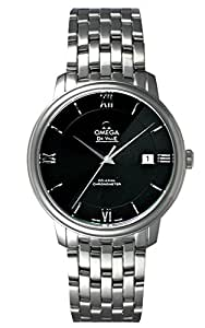 (オメガ) OMEGA 腕時計 デ・ビル プレステージ 424.10.37.20.01.001 ブラック メンズ [並行輸入品]