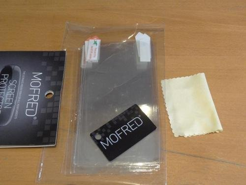 Apple iPhone 5 / 5S / 5C - 6 Screen Protectors Pack Retail Packed with Cleaning Cloth and Application Card