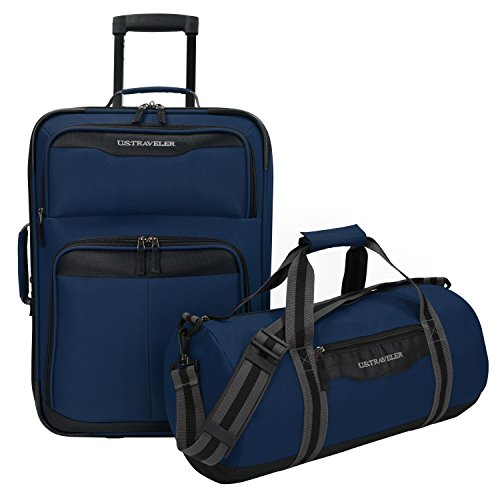 travelers-choice-us-traveler-hillstar-2-piece-casual-luggage-set-navy-one-size