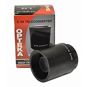 Opteka High Definition 500mm / 1000mm f/8 Preset Telephoto lens Reviews