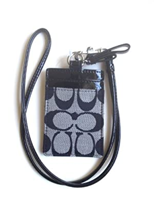 Best Cheap Deal for Coach Park Signature Lanyard Id Case from Coach - Free 2 Day Shipping Available